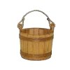 2105 - Small Finished Pine Bucket