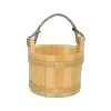 2106 - Small Unfinished Pine Bucket